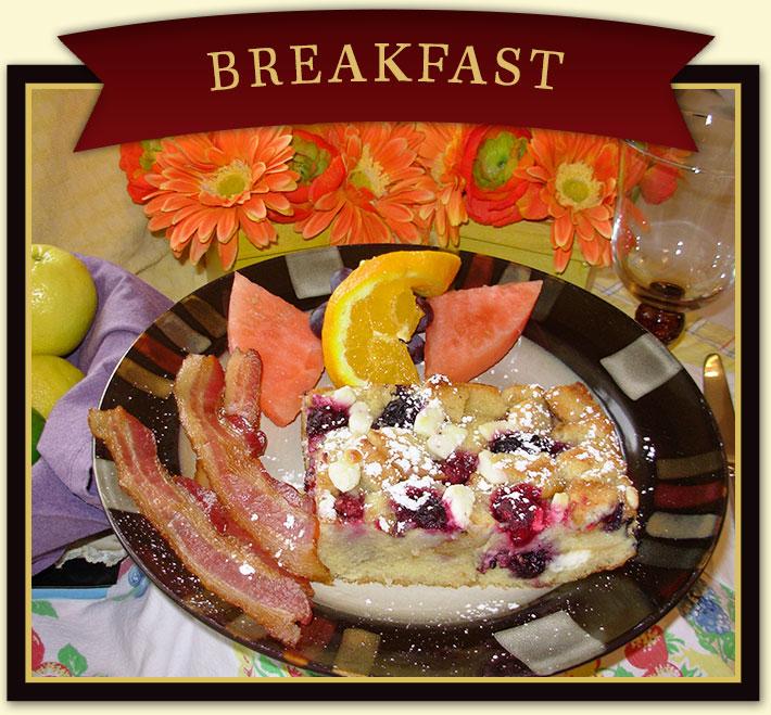 Breakfast at Harvest House B&B Near Zion National Park