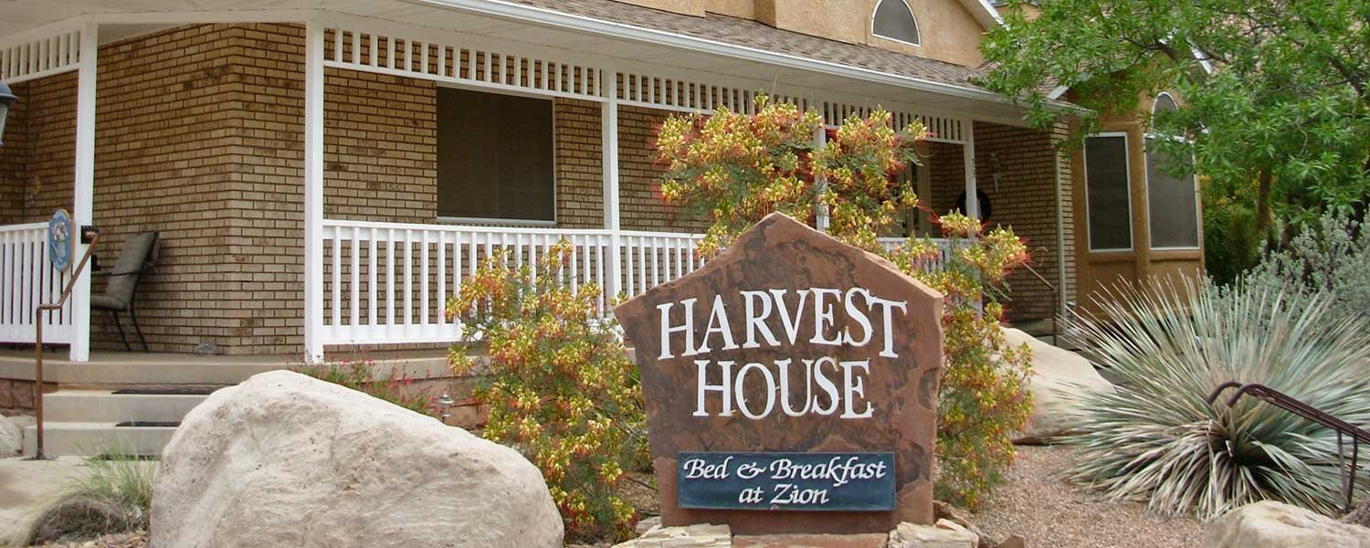 harvest house bed and breakfast | zion national park lodging