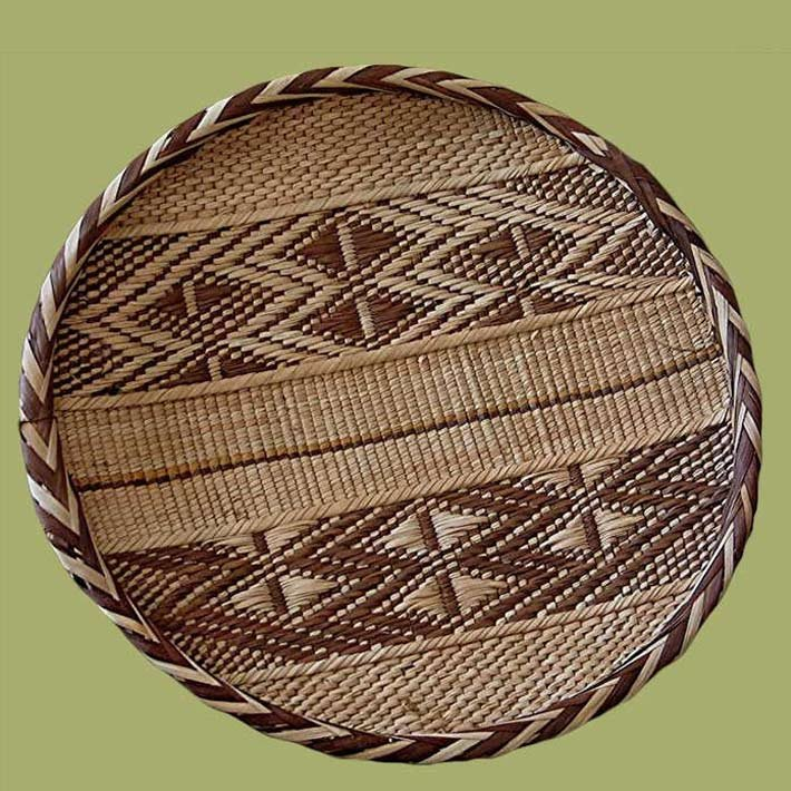 African Baskets in Voss Inn Gift Shop
