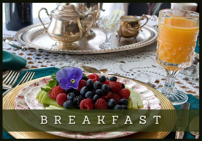 Breakfast at The Voss Inn in Bozeman, Montana