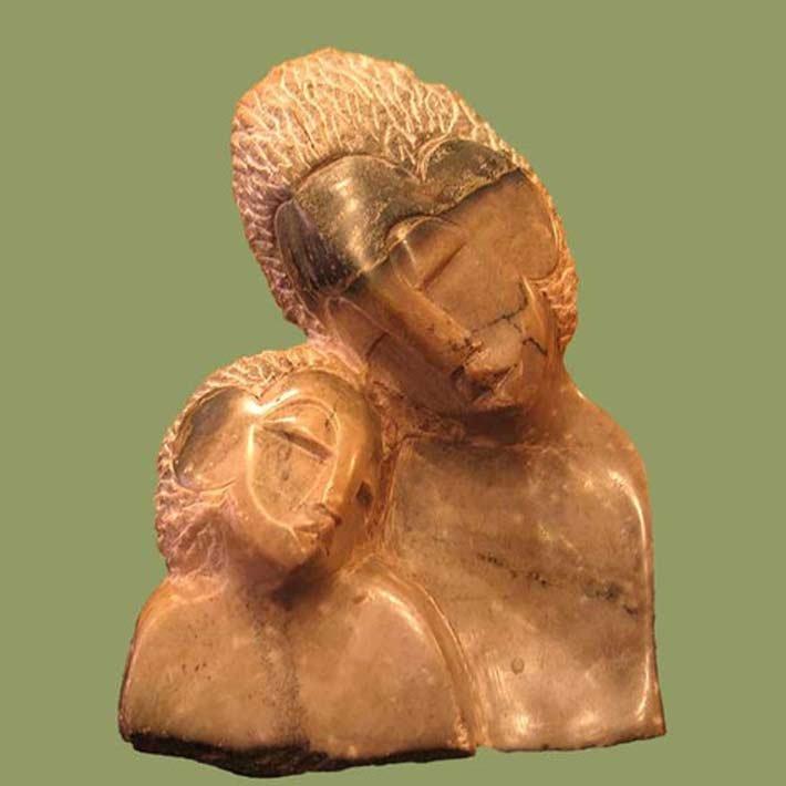 Shona Sculpture from Africa in Voss Inn Gift Shop