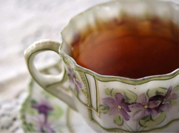 Time for Tea at The Voss Inn in Bozeman, Montana