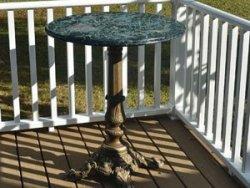 Perching Medium Table Rental at Danville B&B