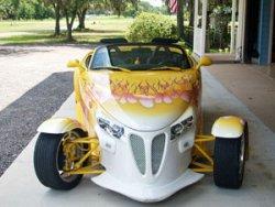 Prowler Roadster Rental at Danville B&B