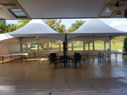 Marquee Tent Rental at Danville B&B