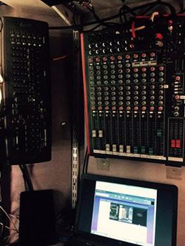 DJ equipment at Danville