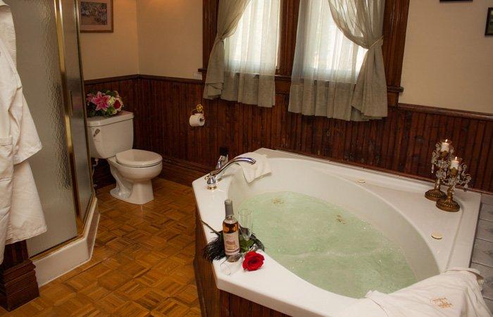 Bathtub Hamilton House Bed and Breakfast