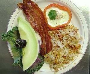 danville breakfast plate