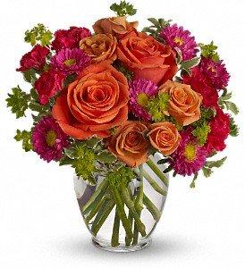 how sweet it is flower arrangement at Idahom B&B