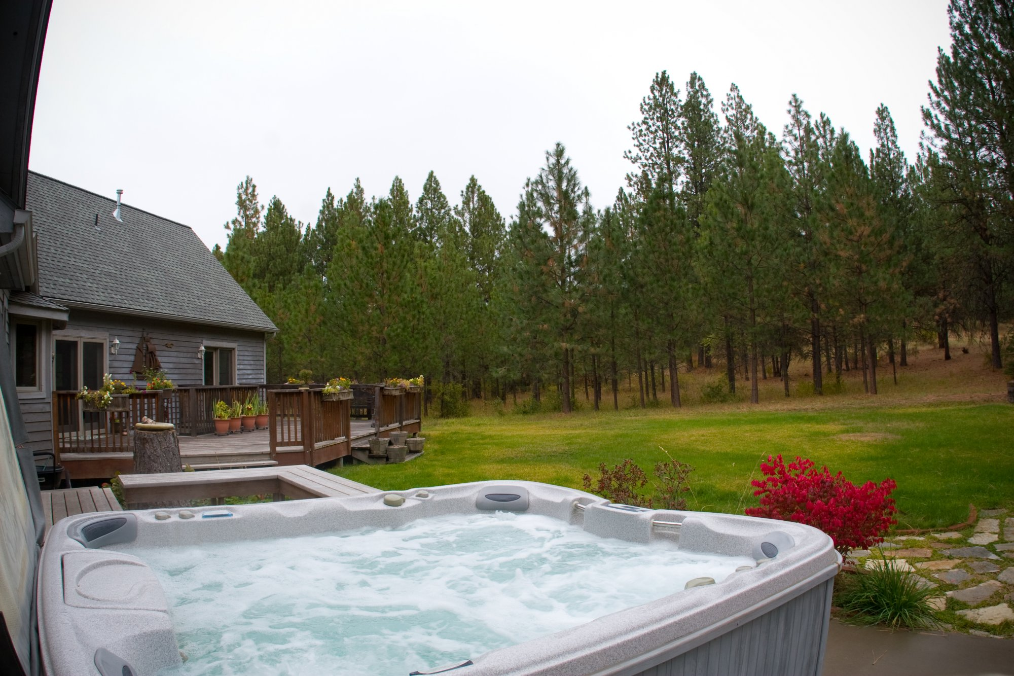 spa at idahome bed and breakfast