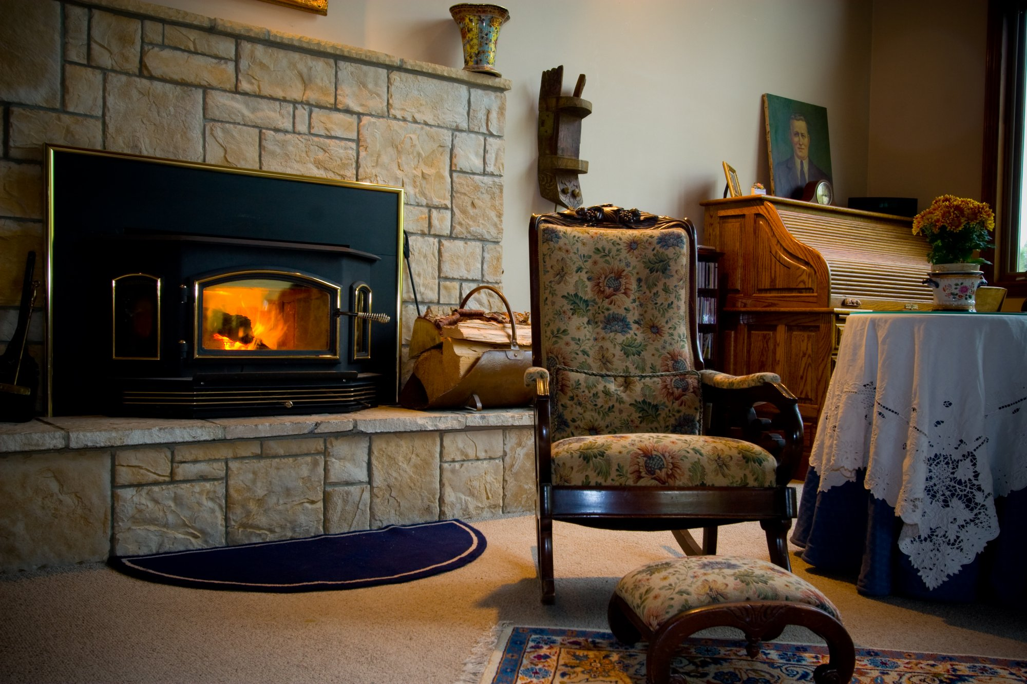 idahome fireplace