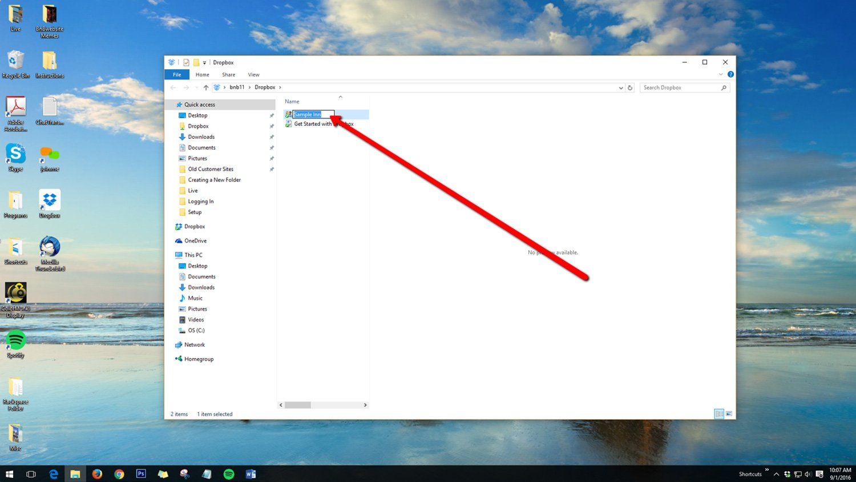Rename Dropbox Folders 2