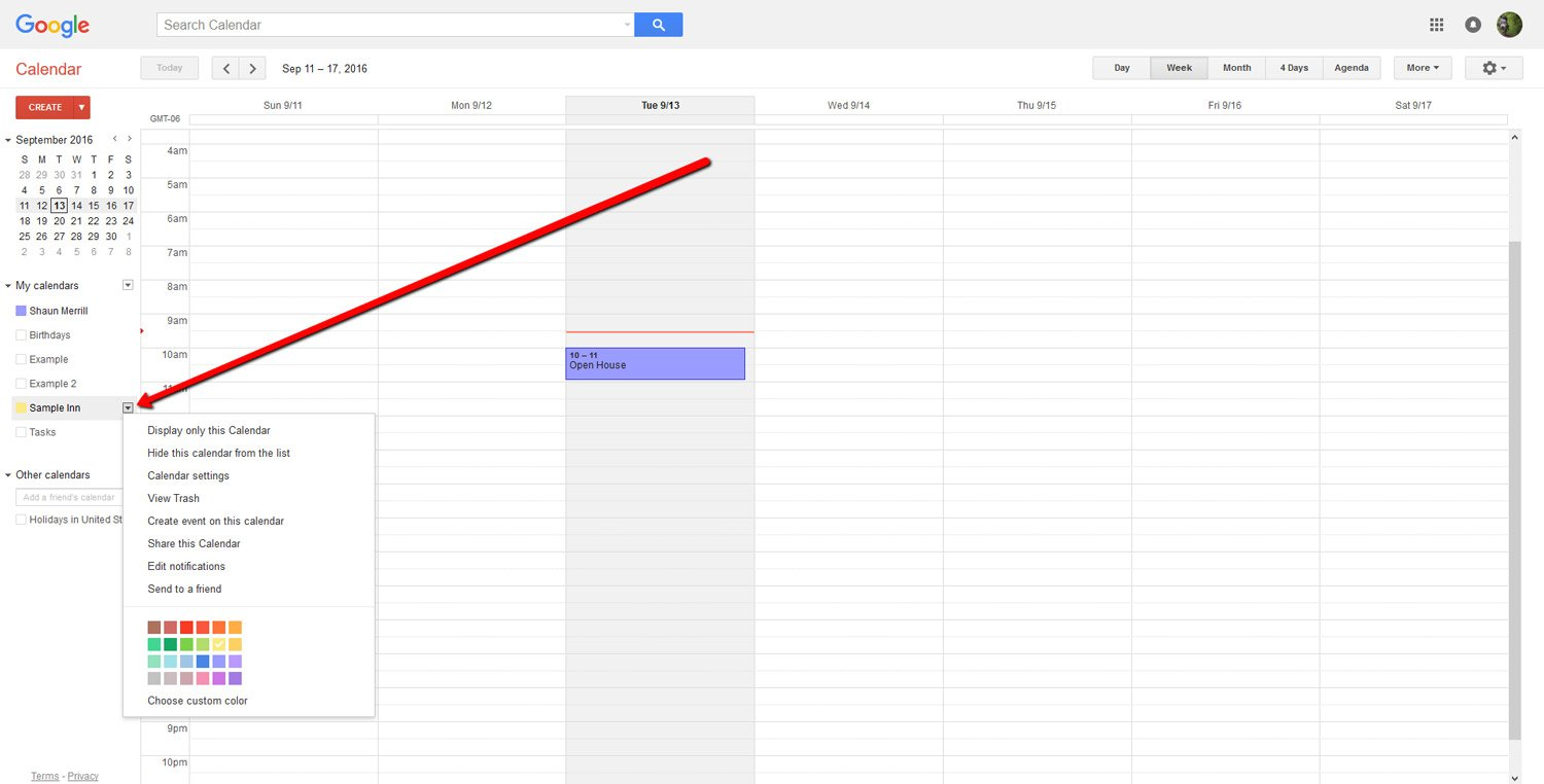 How To Embed a Google Calendar 3