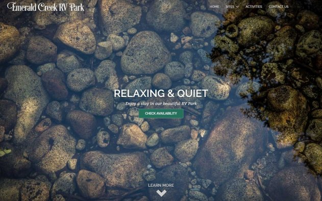 Emerald Creek RV Park Design