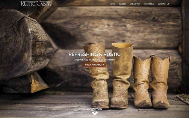 Rustic Cabins Design