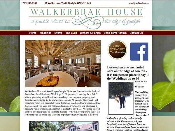 Walkerbrae.ca testimonial