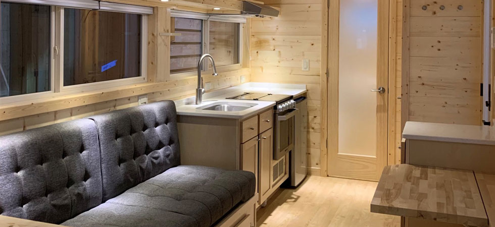 Redwood Cabin queen with kitchen in Sawtooth National Forest