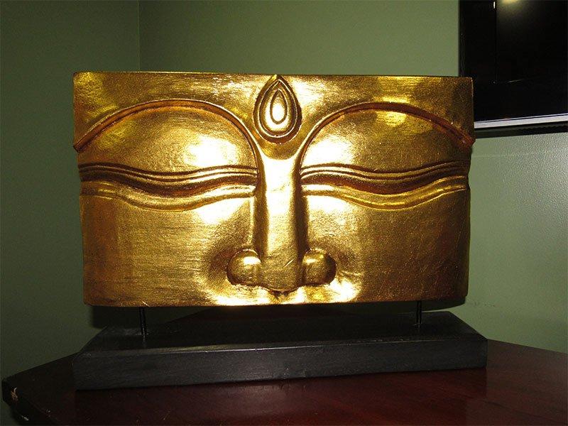 decorative Buddha mask