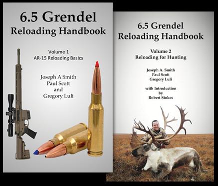 6 5 Grendel, CFE223, 123gr Hornady SST Reloading Youtube Series