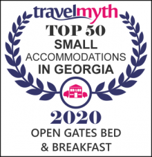 Travelmyth small hotels in Georgia award