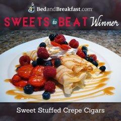 BedandBreakfast.com Sweets to Beat WInner