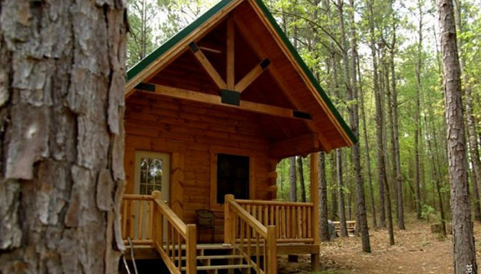 Virtual Tour of Couples Log Cabin