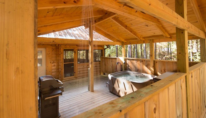 Guest Rooms Romantic Cabins In Arkansas Country Charm