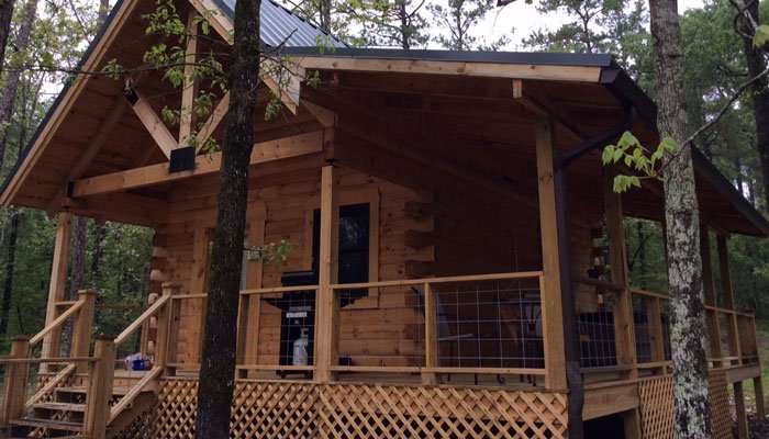 Virtual Tour of Hideaway Log Cabin