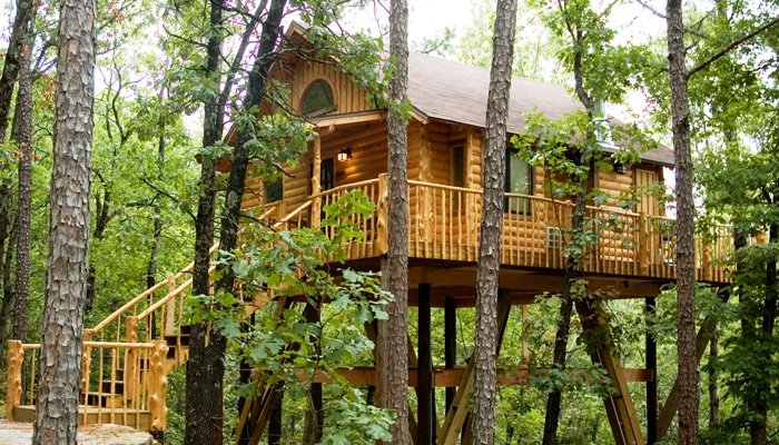 Attractive Treehouse Cottages