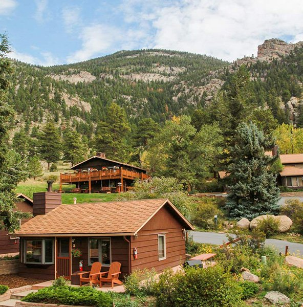McGregor Mountain Lodge near Estes Park, CO