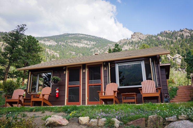 estes rocky colorado river rustic park friendly in cabins pet rusticrivercabins mountains marijuana