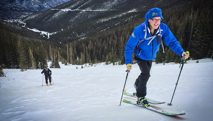 Skiing in Rocky Mountain National Park