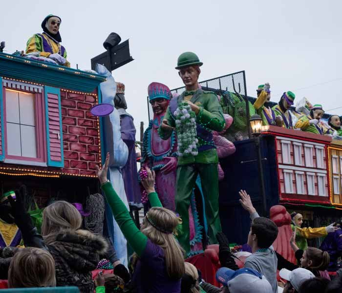 Mardi Gras at Bayou Haven