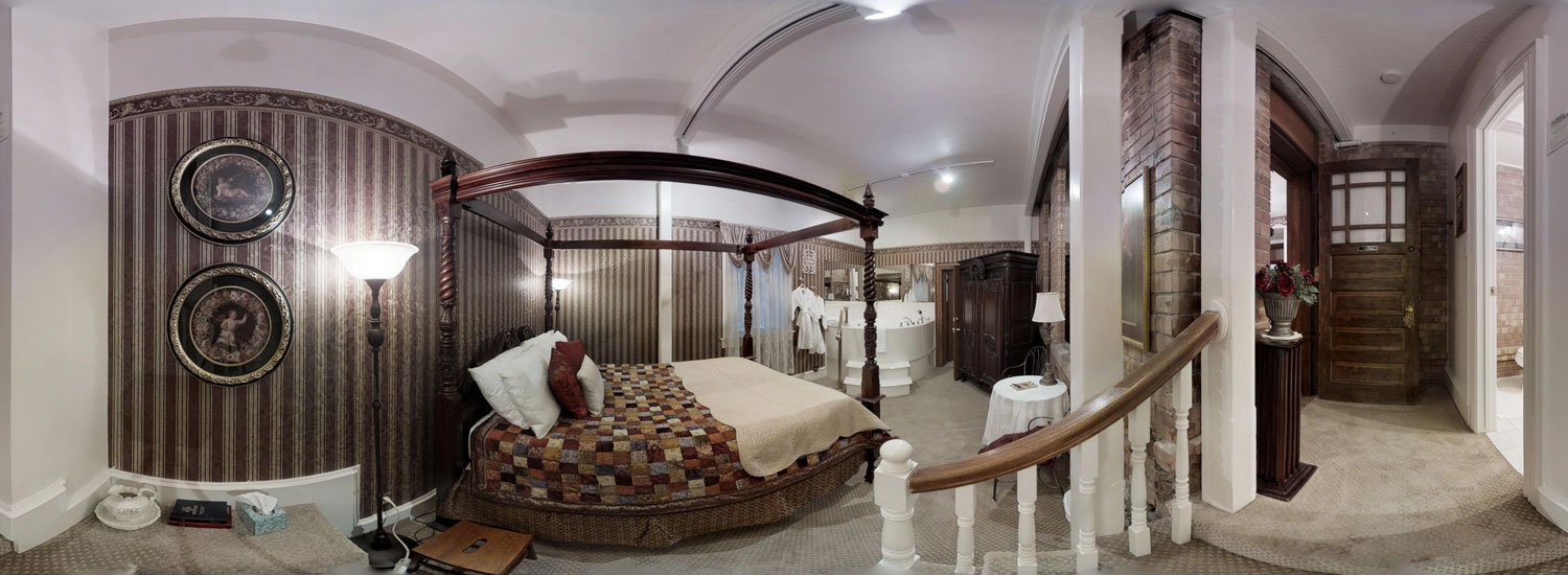 Winter Dreams Room with bed and jetted tub