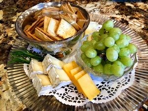 Cheese and Crackers plater