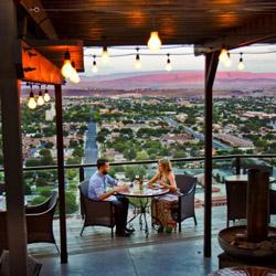 Cliffside Restaurant At The Inn On The Cliff In St. George, Utah