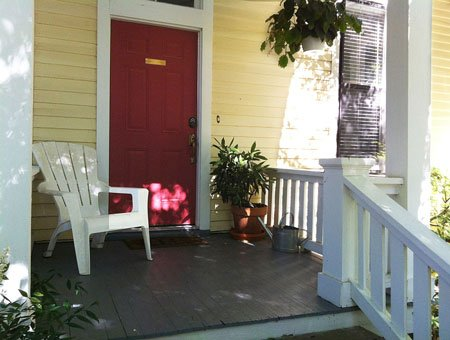 Barkley Cottage Front Porch