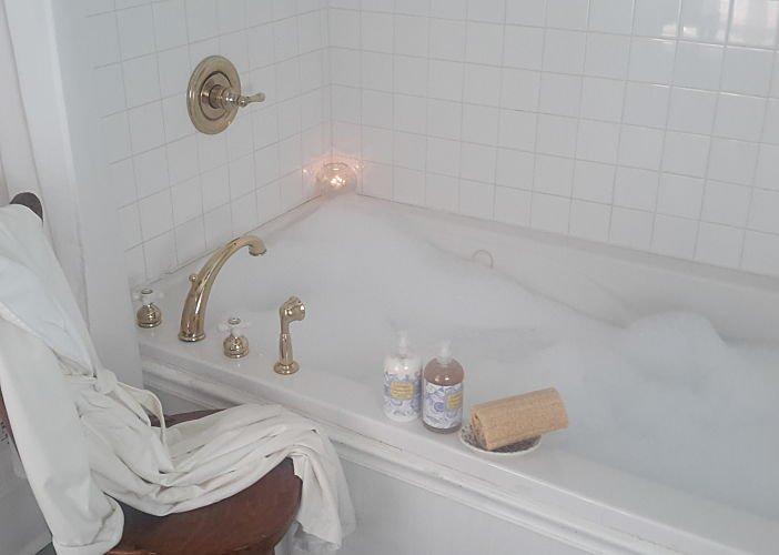 A bath tub