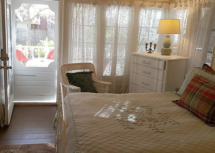 May's 2 Bedroom Guest Room at Rosemont Cottages in Little Rock, AR