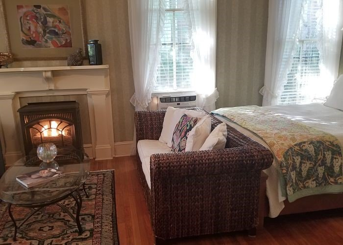 Front Room with fireplace
