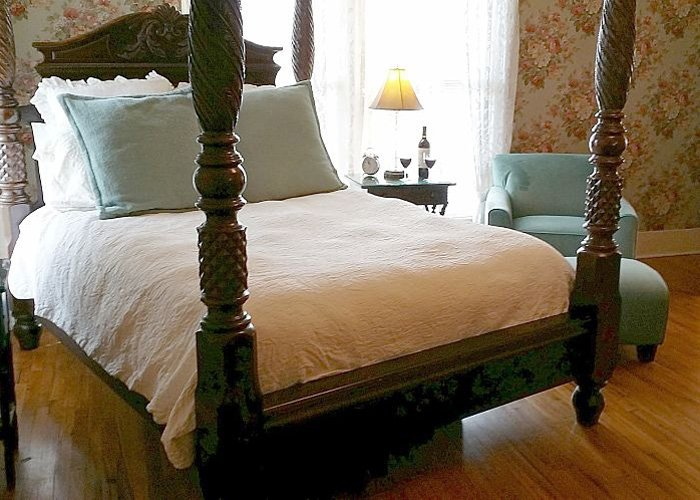ST. CLAIR GUEST ROOM at Rosemont Rooms and Cottages in Little Rock, AR
