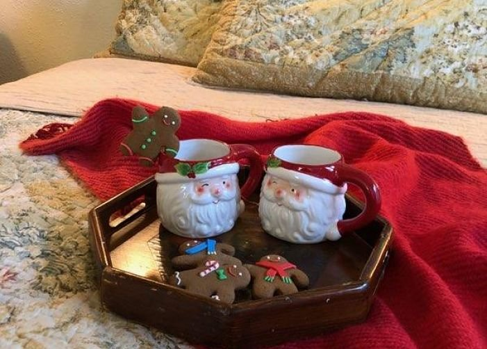 Winslow Santa Bed at Rosemont Cottages in Little Rock, AK