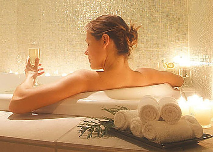 spa package at Rosehaven cottages in little rock, AR