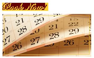A booking calendar