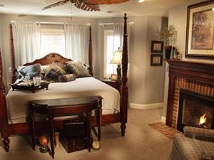 Our Guest Rooms Valparaiso Inn Songbird Prairie B B