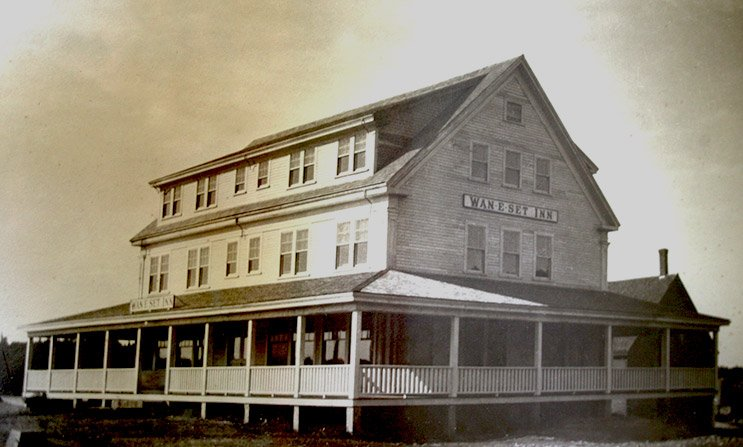 Historic Photo of East Wind Inn in Tenants Harbor, ME