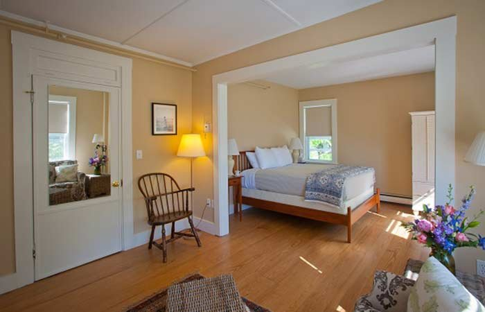 Accommodations at East Wind inn in Tenants Harbor, Maine