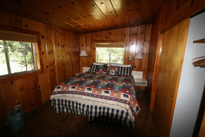 Bedroom in a cabin