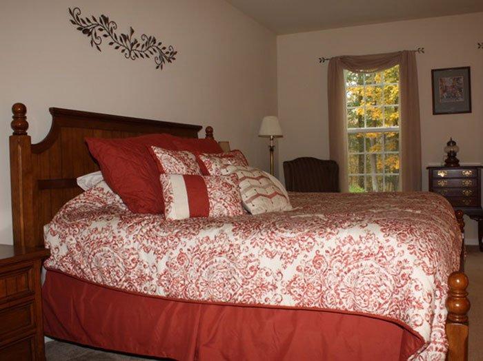 Windscombe Room at the Uphill House B&B
