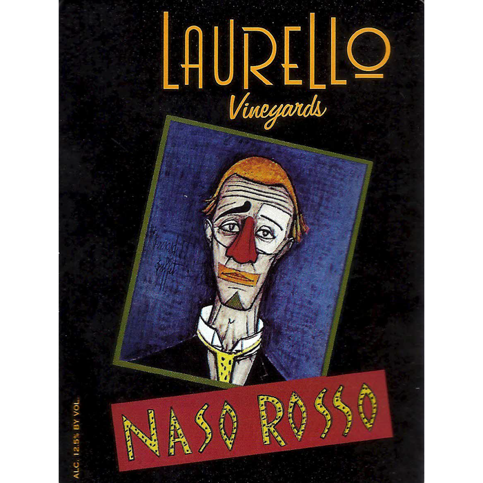 Naso Rosso wine at Laurello Vineyards